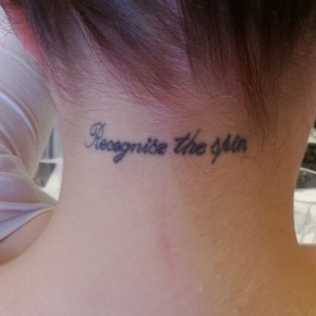 What's it got tattoo withyou?