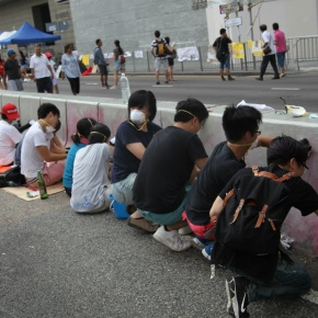 Hong Kong: Occupy told through space