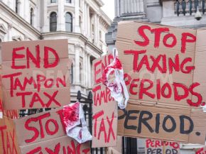 It's not bloody over. Why the tampon tax debate won't be brushed off